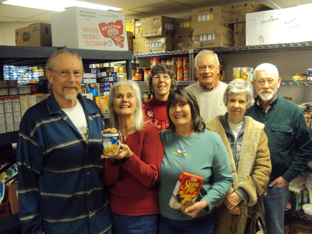 Food pantry team members