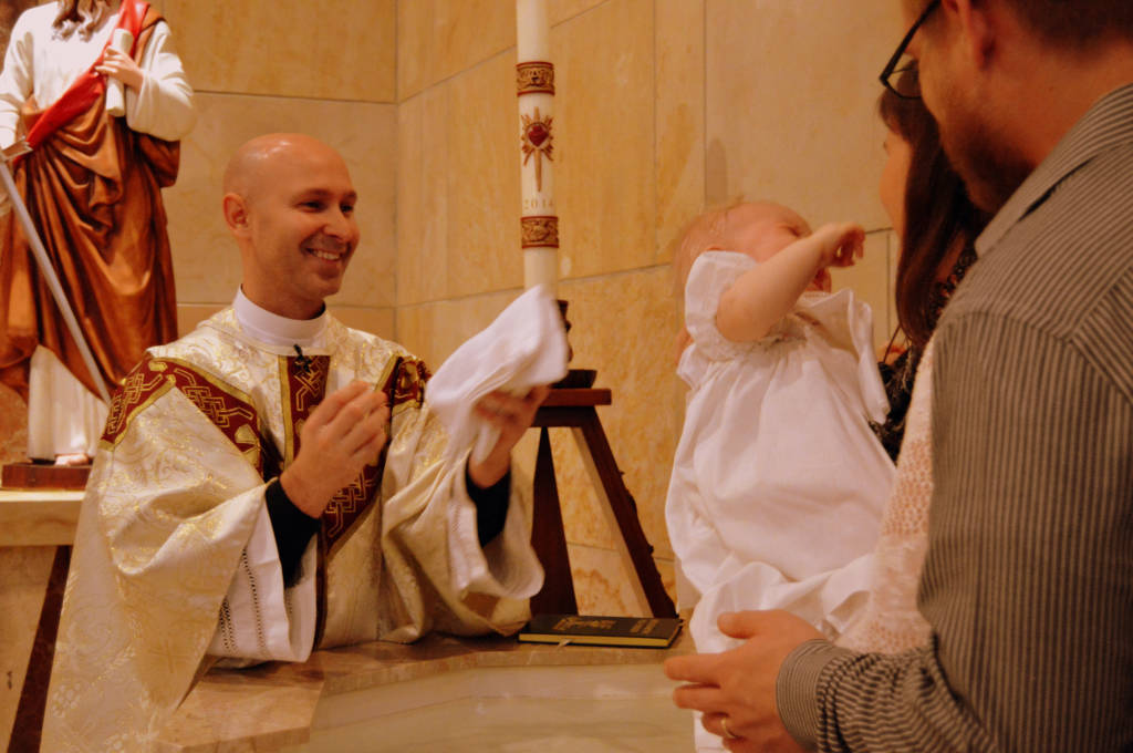 an introduction to the religious sacrament of baptism in christian faith Should be introduced into the life of faith, liturgy, and charity of the people of god  by  baptism of some truth which is to be believed by divine and catholic faith.