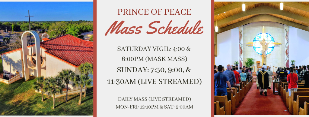Mass Times Prince Of Peace Parish