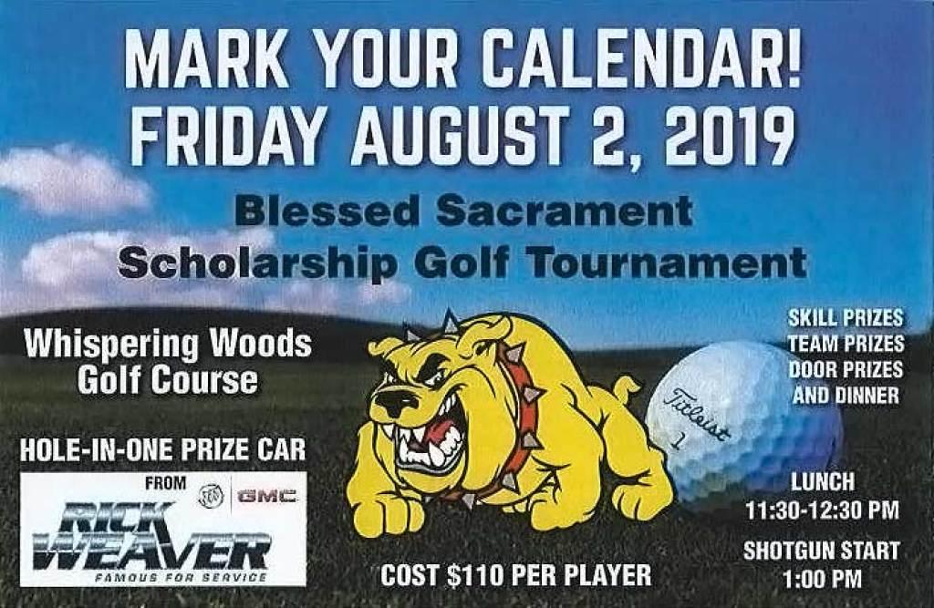 Blessed Sacrament Scholarship Golf Tournament