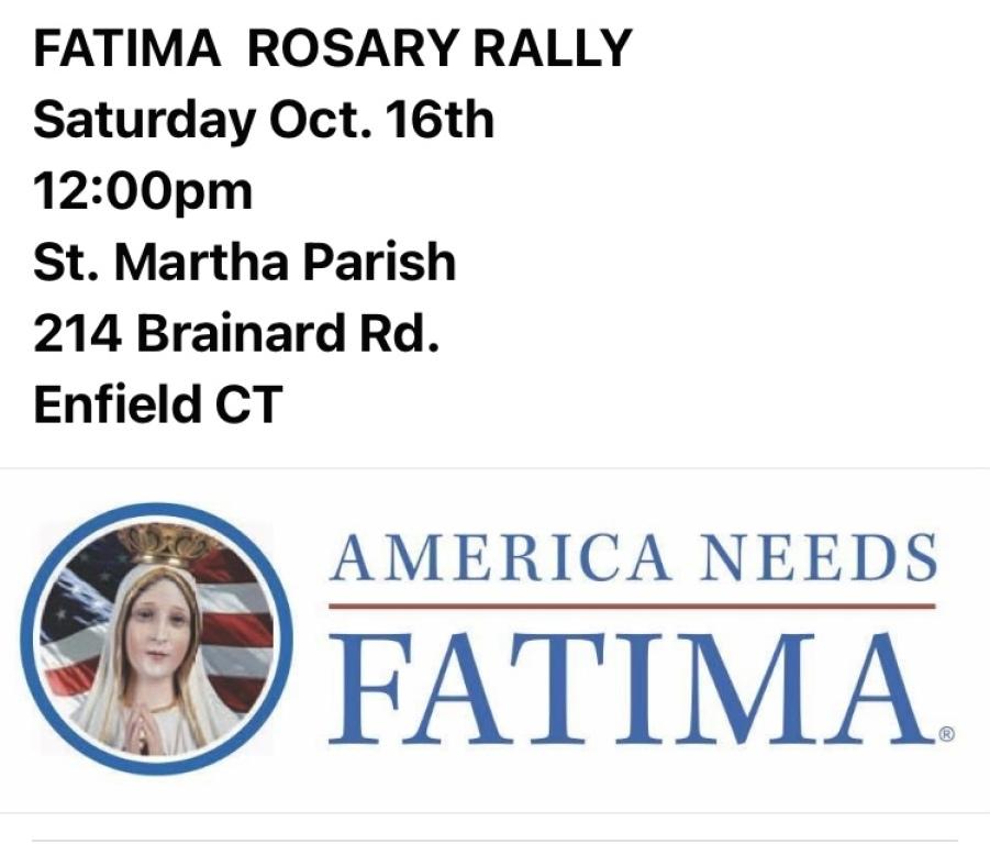 Fatima Rosary Rally