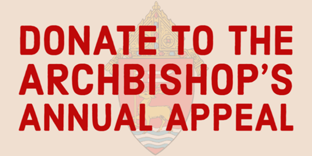 Archbishops Annual Appeal