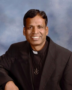 Photo of Rev. John Britto Antony C.S.C