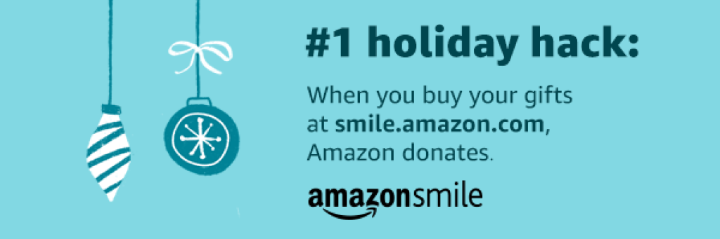Holiday Amazon Smile Banner