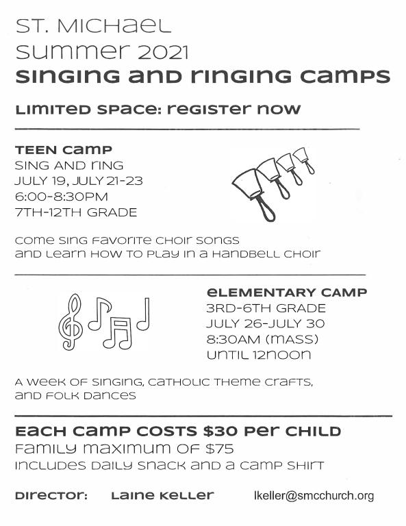 Summer Choir Camps
