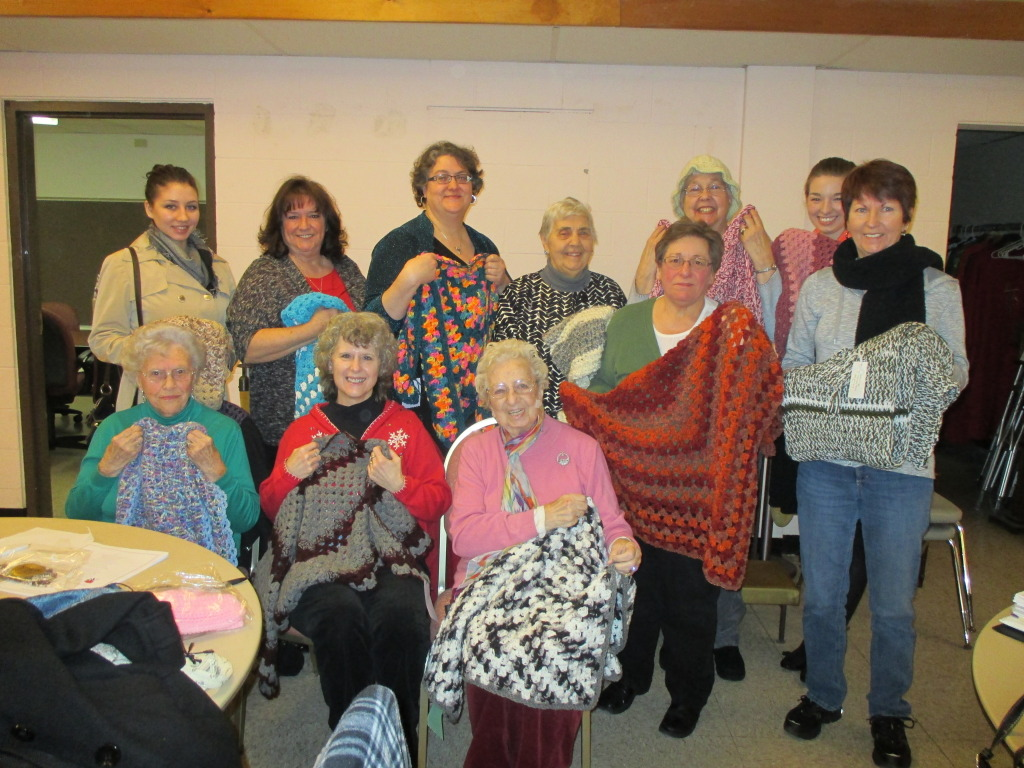 Members of Prayer Shawl Ministry