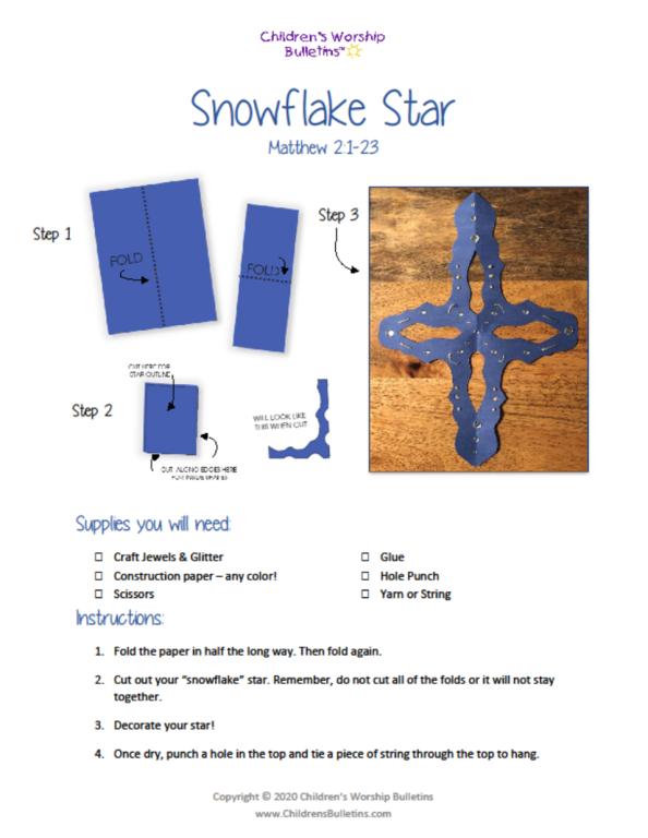 Snowflake_Star_Craft_Instructions