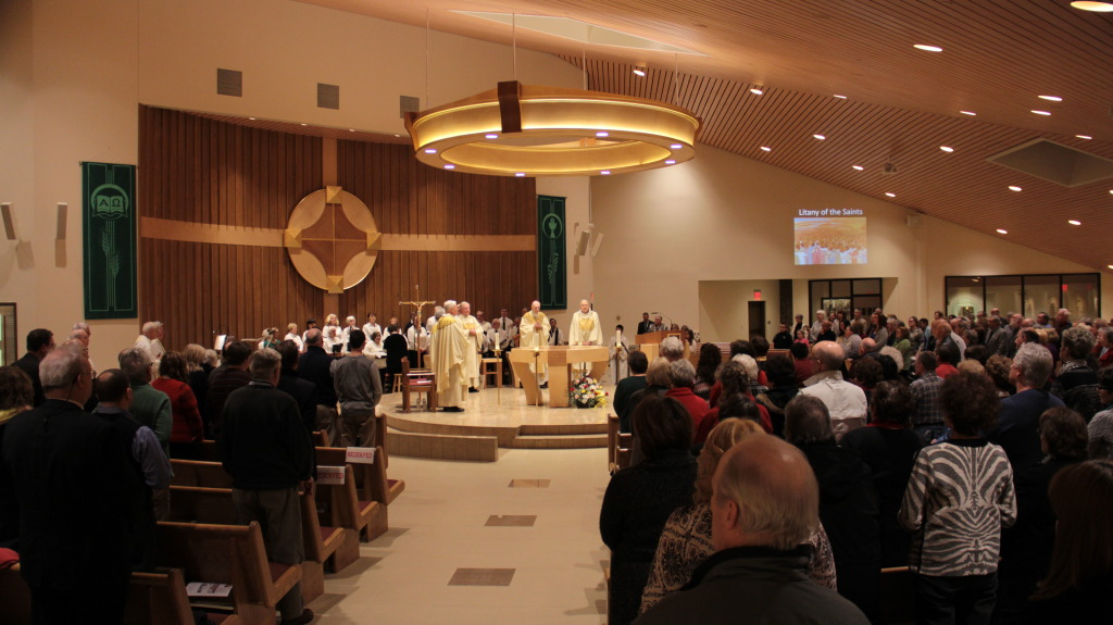Mass Of Dedication Of Renovated Church Part 1 Christ Our