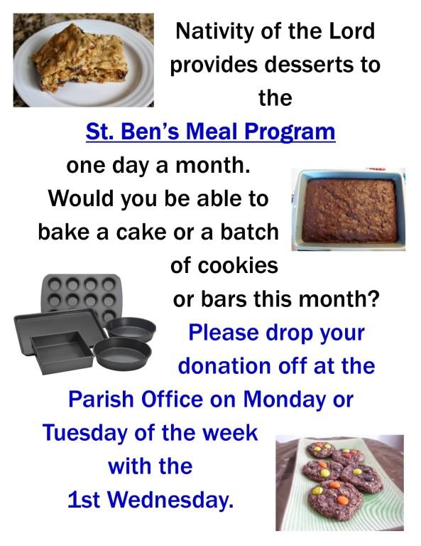 St. Ben's Meal Program