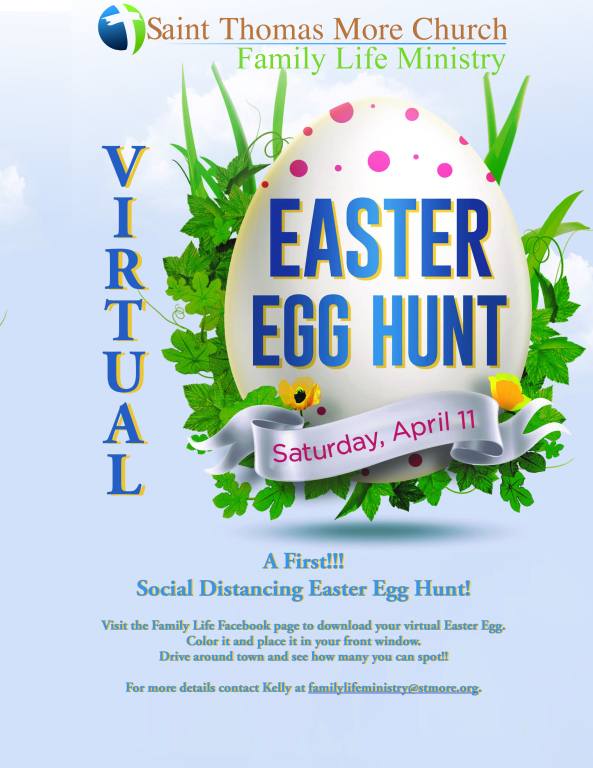 Social Distance Easter Egg Hunt