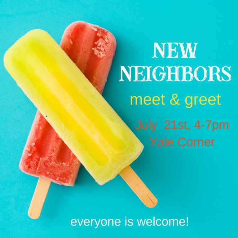 New Neighbors Meet and Greet