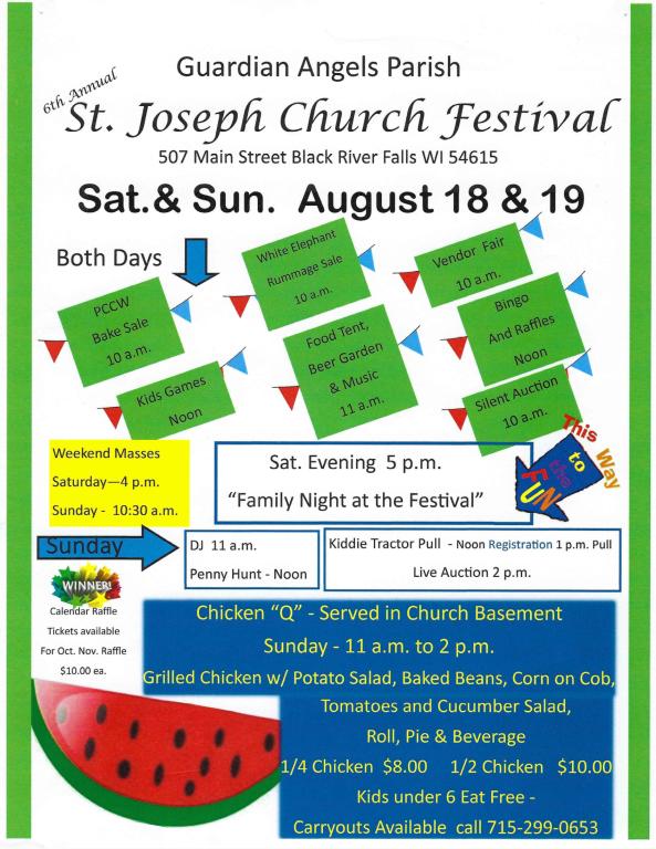 ST JOSEPH ANNUAL FESTIVAL