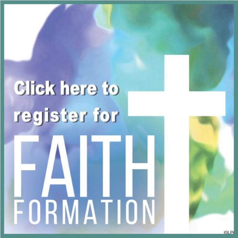 Faith Formation Registration Button