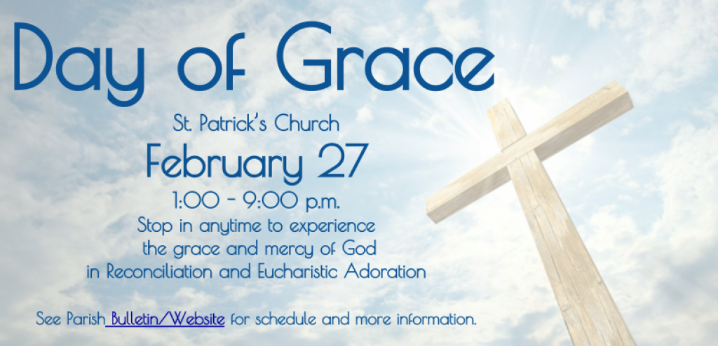 Day of Grace February 27, 2018