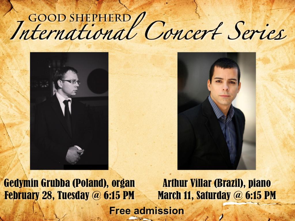 Good Shepherd International Concert Series