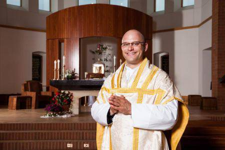 Photo of Father Luke Marquard