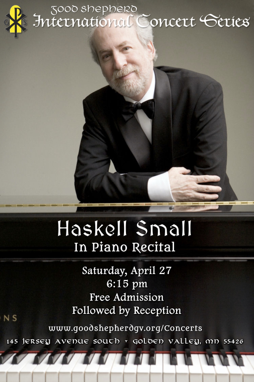 Haskell Small in Concert at Good Shepherd Catholic Church