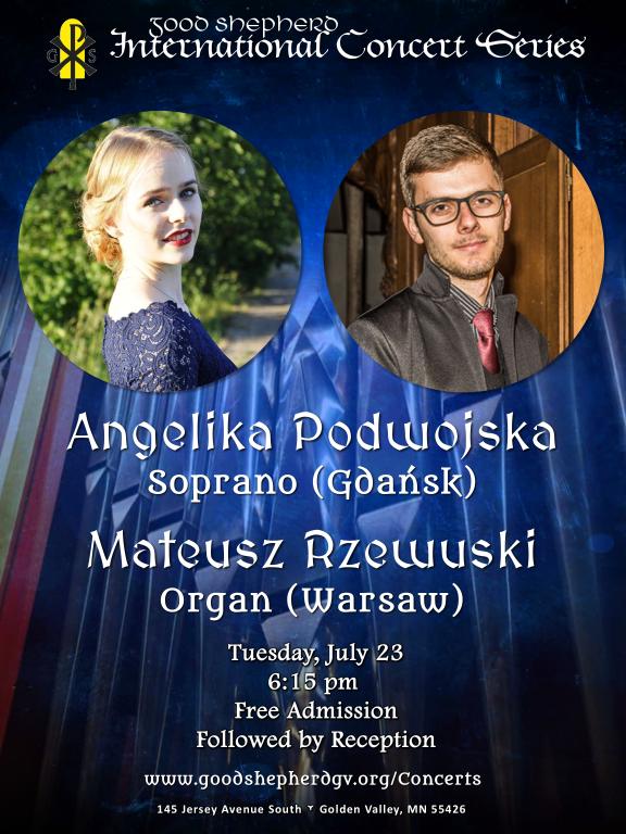 Mateusz Rzewuski & Angelika Podwojska (Poland) in concert at Good Shepherd Catholic Church