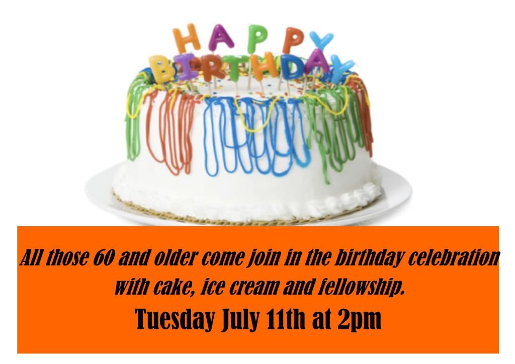 Senior Birthday Party