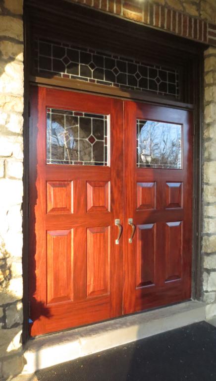 New church doors