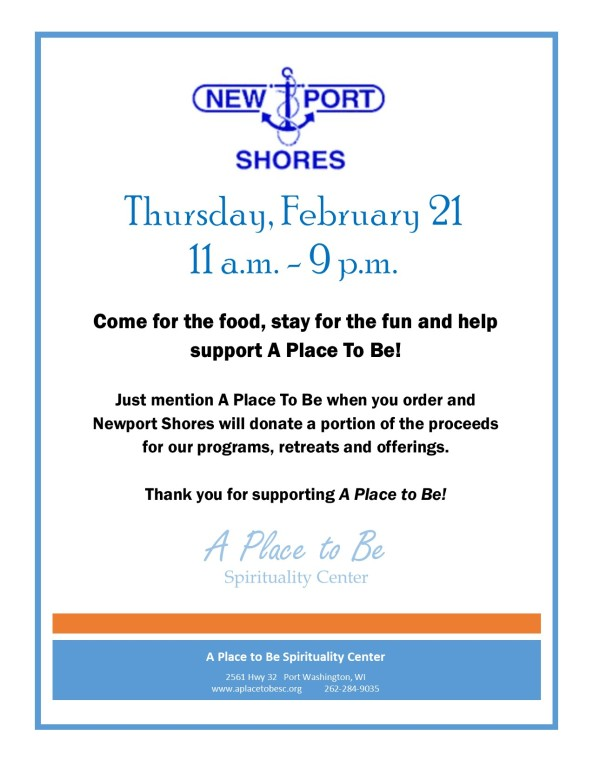 A Place to Be Fundraiser