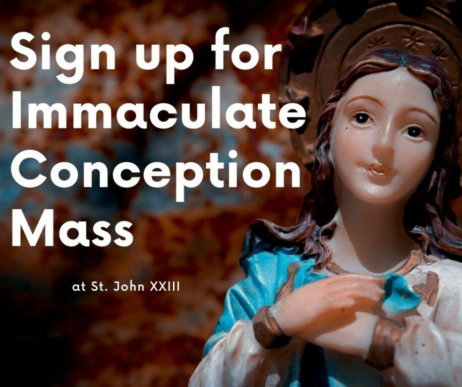 IC Mass Sign up