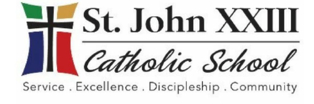 St. John XXIII School Website