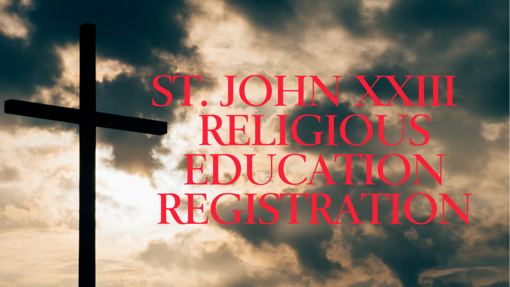 Religious Education Registration