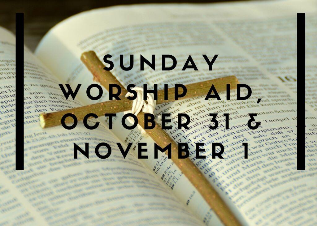 Worship Aid