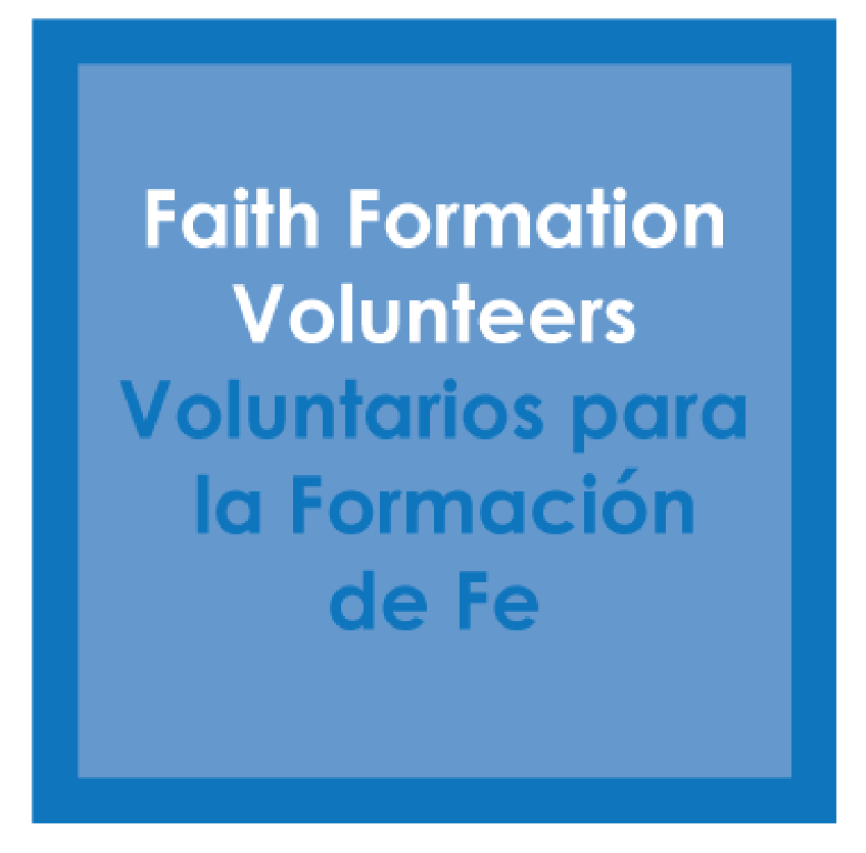 Faith Formation Volunteers