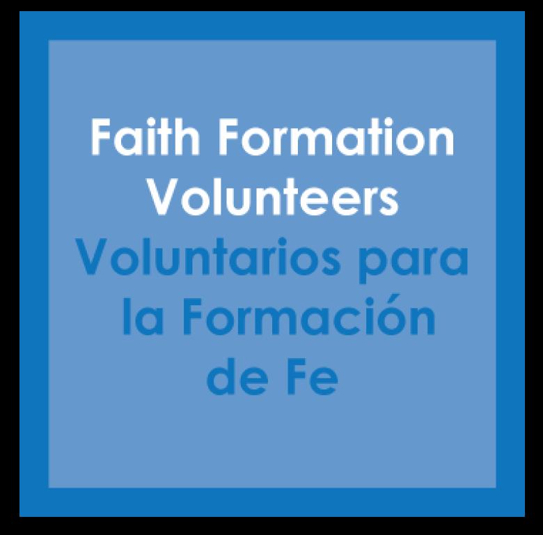 Faith Formation Volunteers