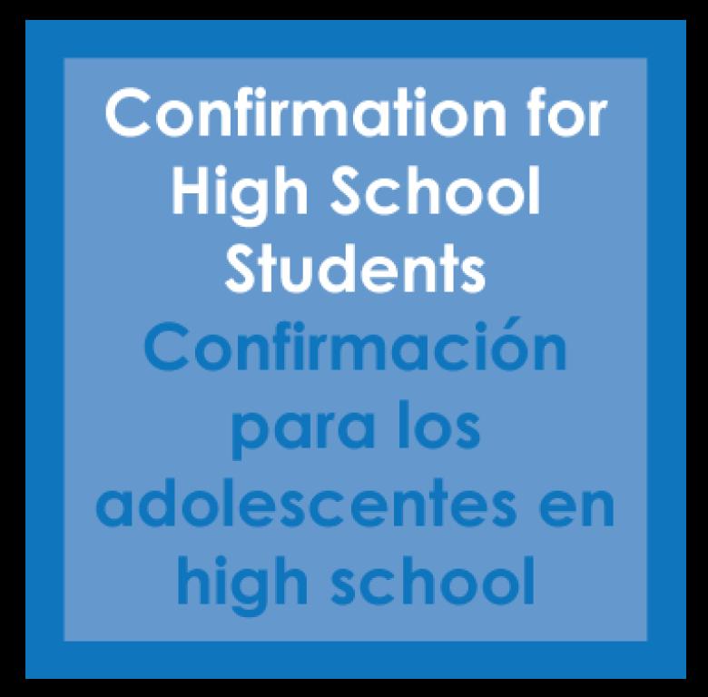 High School Confirmation