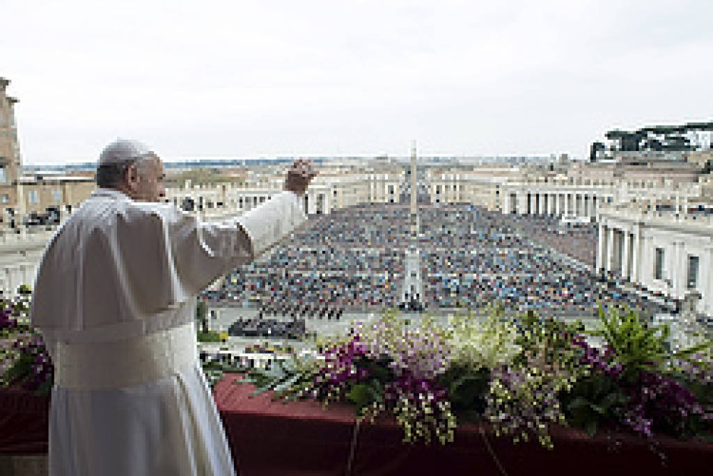 Pope at Easter