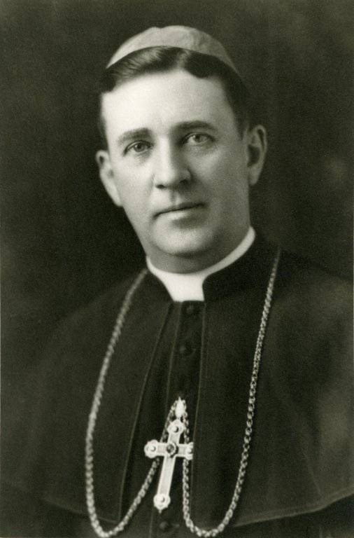 Portrait of Bishop Thomas A. Welch