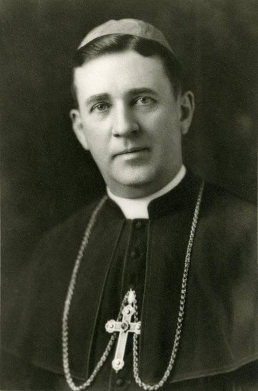 Portrait of Bishop Thomas A. Welch