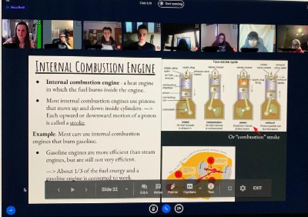 Mater Dei online class