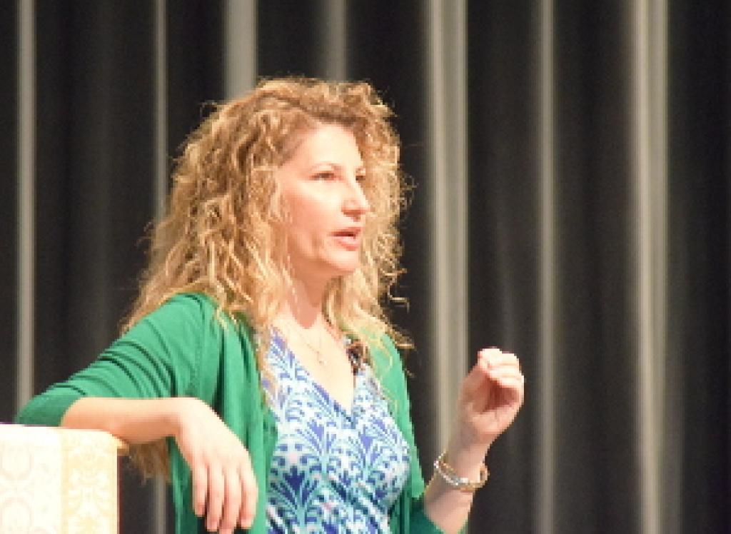 Sonja Corbitt speaking