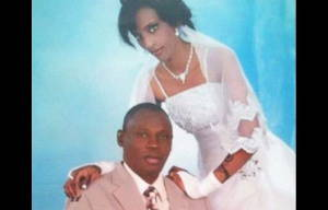 Meriam Ibrahim is pictured in this undated image with her husband Daniel Wani.
