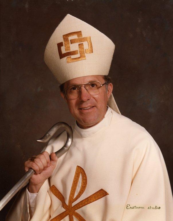 Portrait of Bishop Robert H. Brom