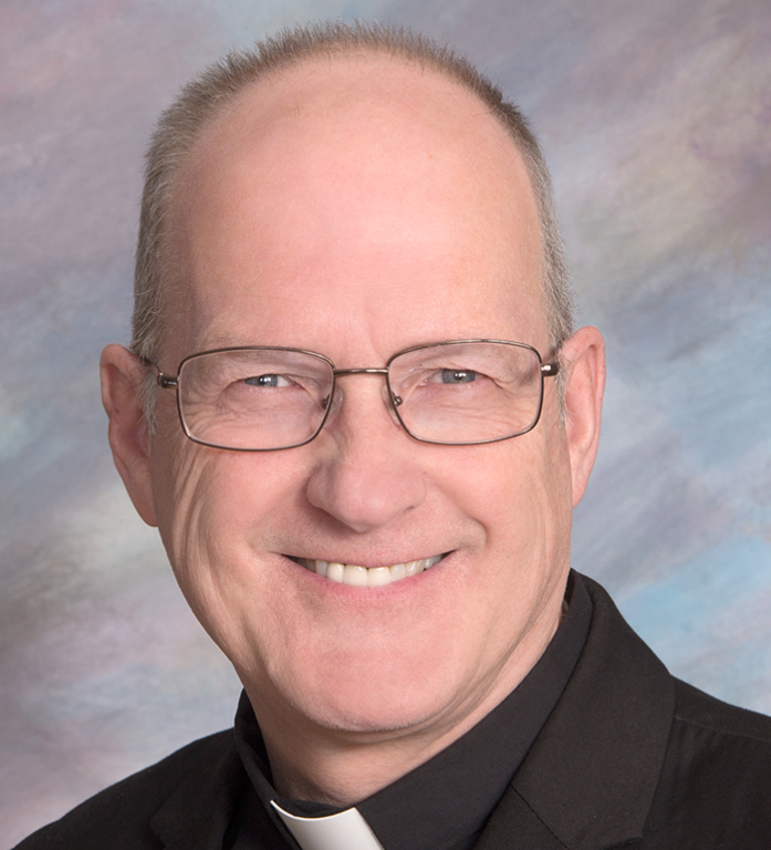 Bishop-elect Michel Mulloy