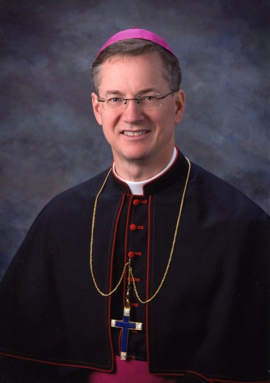 Portrait of Bishop Paul Sirba by Lynnette Studio