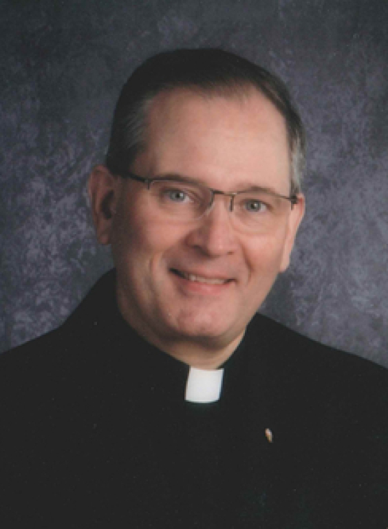 Bishop-elect Peter Muhich
