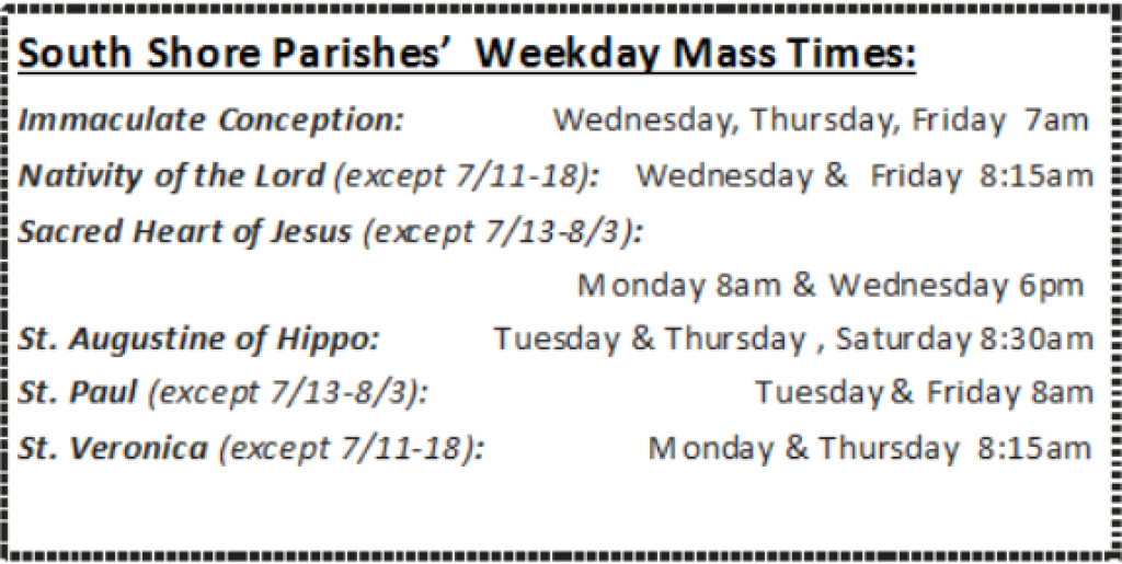Weekday Mass