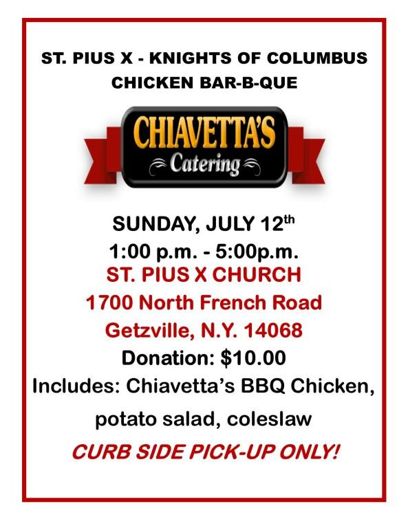 Chiavetta's BBQ July 12th