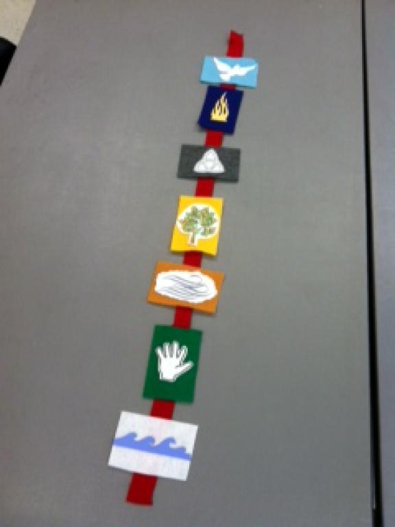 1st grade Pentecost Project