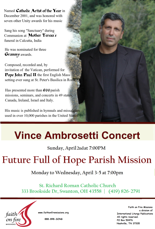 Future Full Of Hope Parish Mission