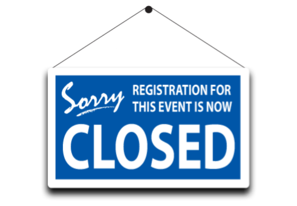Registration is Now Closed