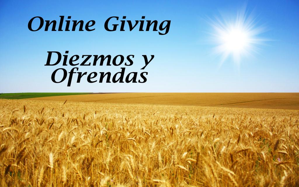 Online Giving - Diezmos y Ofrendas