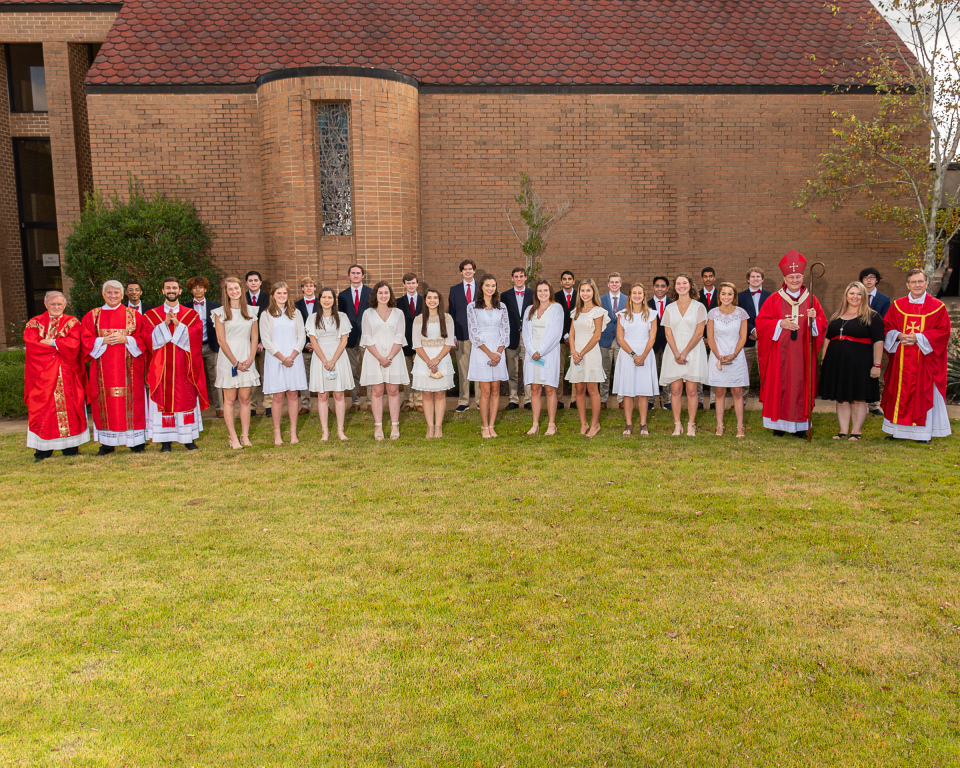Confirmation Class of 2020 Group Photo