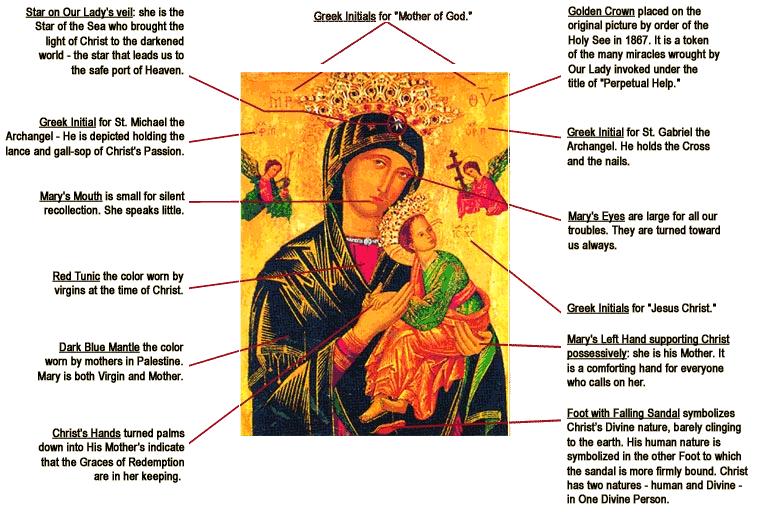 novena to our lady of perpetual help st thomas aquinas catholic